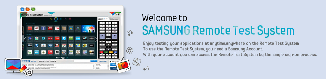 Testing your applications on the Remote Test System
